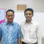 Adhitya dan Prof. Laode Kamaluddin