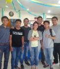 Adhitya bersama teman-teman di TBI Jakarta