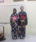 Kelas pakaian Jepang di Tomodaci