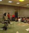 Adhitya di workshop Turun Tangan di Jakarta