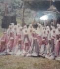 Adhitya saat mengikuti lomba khatam Al Qur'an di Bukittinggi