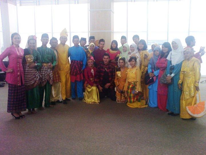 Adhitya saat mengikuti seleksi PPAN tahun 2011