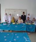 Adhitya bersama penguji sidang munaqasyah