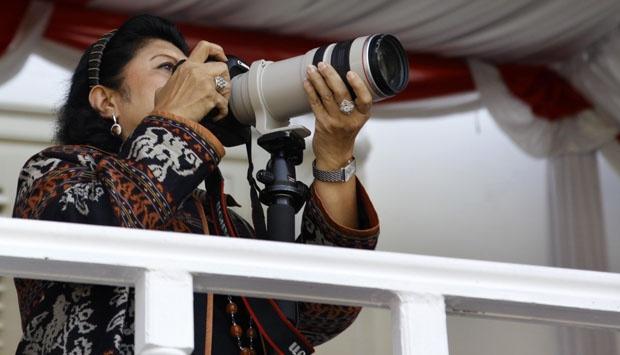 Ibu Ani Yudhoyono (Sumber gambar: www.tempo.co