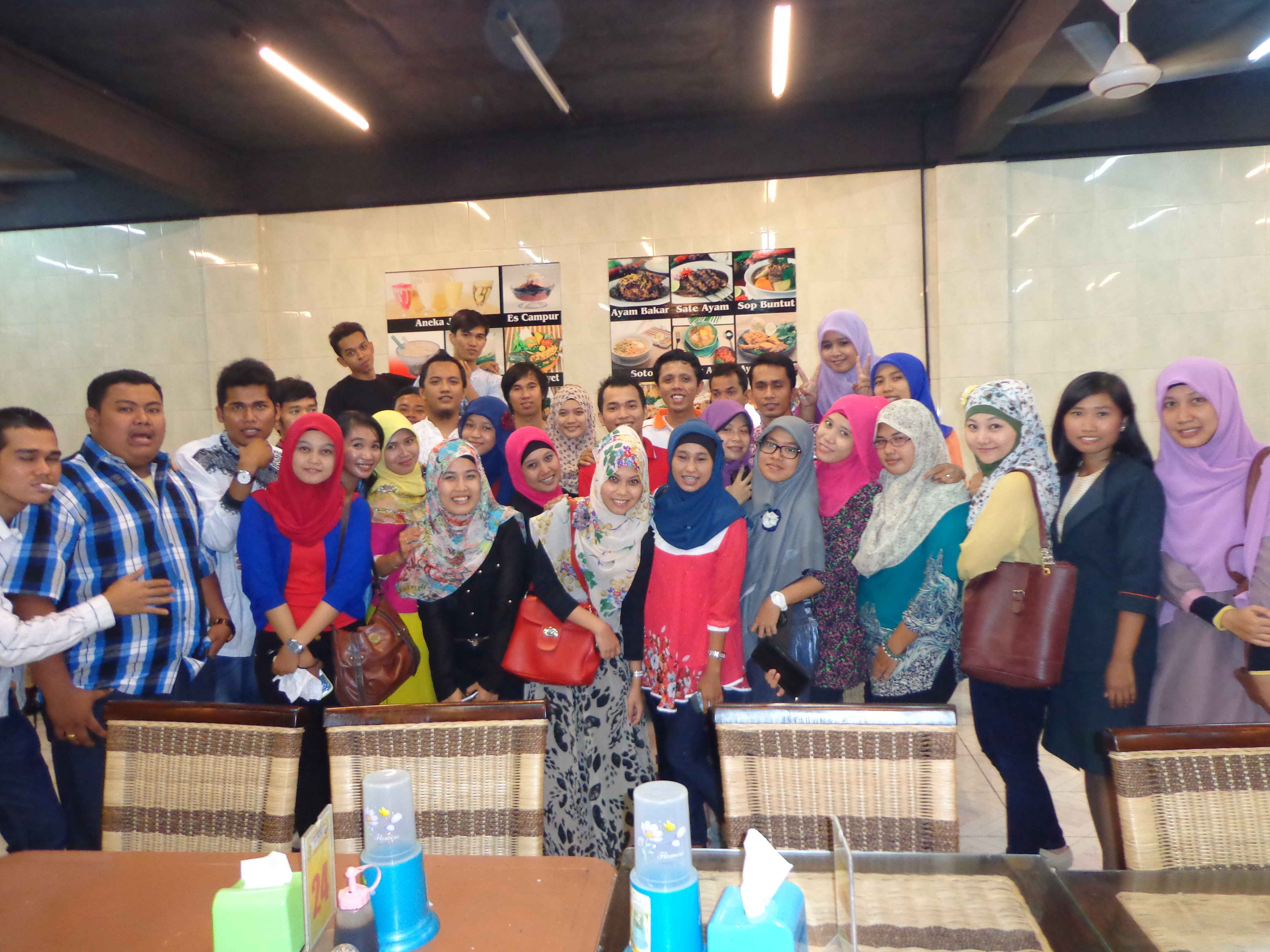 Buka bersama alumni 2008 SMA N 3 Mandau tahun 2013