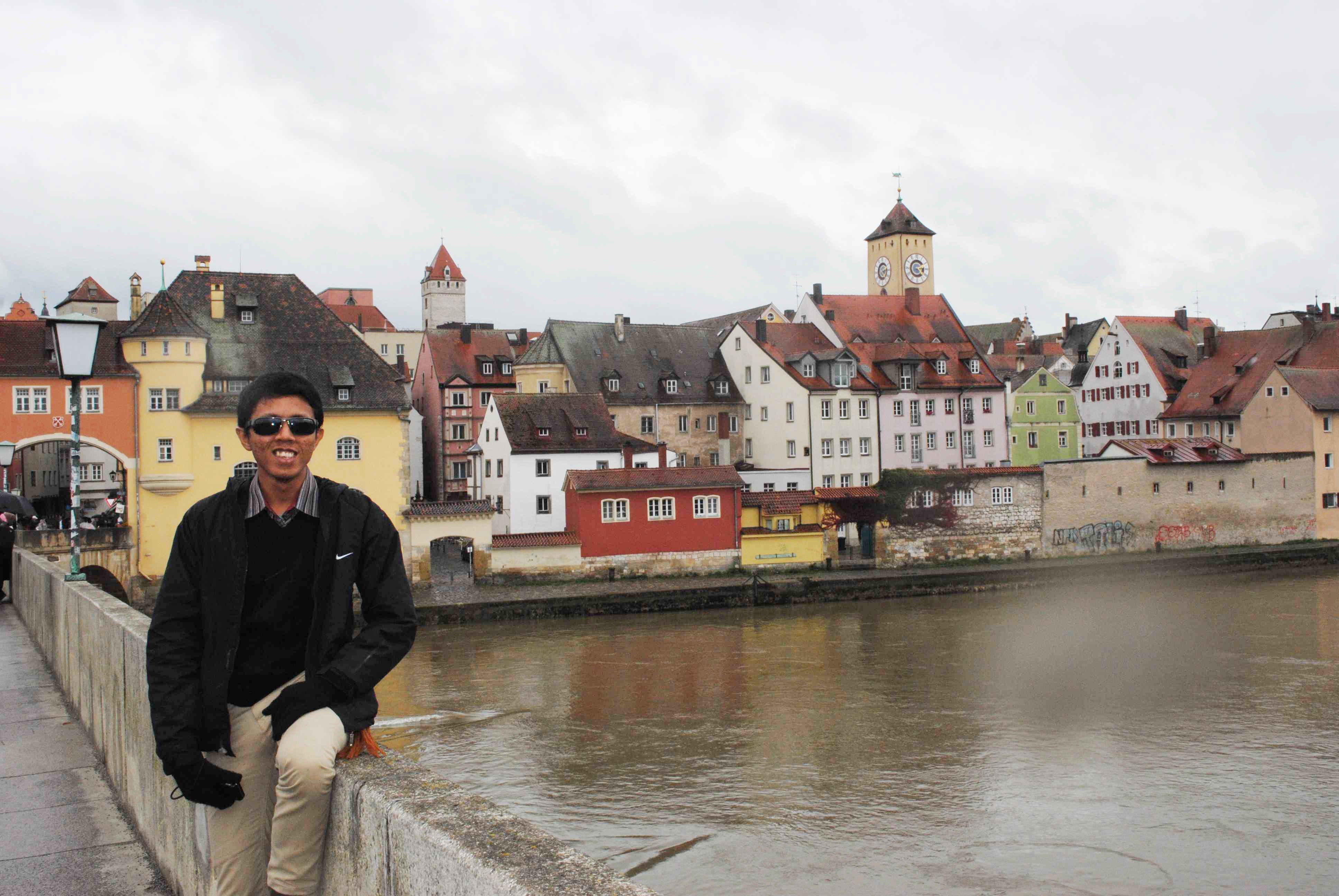Di Regensburg, Jerman