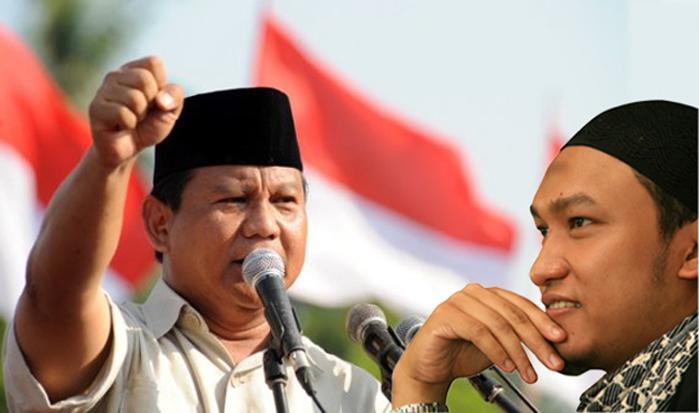 Nasihat Salim. A Fillah kepada Prabowo Subianto