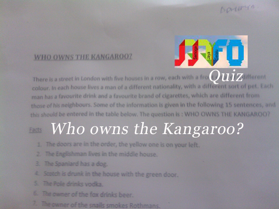 Who owns the Kangaroo
