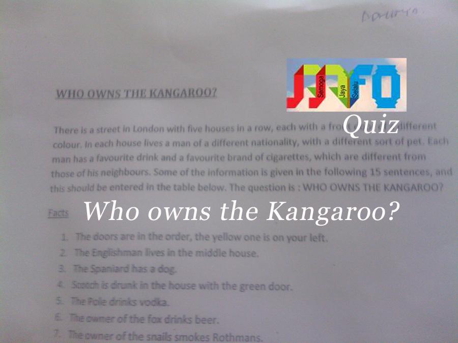Who owns the Kangaroo