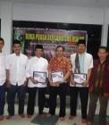 Adhitya foto bersama acara Badko HMI Riau Kepri