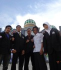 Adhitya bersama pengurus biro kewirausahaan dan kemitraan BEM UIN Suska