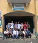 Adhitya saat di Batam bersama teman-teman HMI