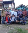 Adhitya bersama pengurus HMI Cabang Pekanbaru