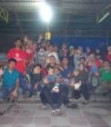 Adhitya bersama teman-teman komunitas di Pekanbaru