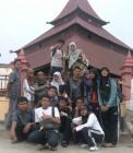 Adhitya bersama teman-teman HMJ