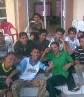 Adhitya bersama teman-teman IMAKIPSI di Bengkulu