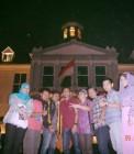 Adhitya bersama teman-teman YIB di Kota Tua Jakarta