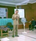 Adhitya di salah satu sesi training